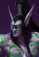 Portrait de Illidan